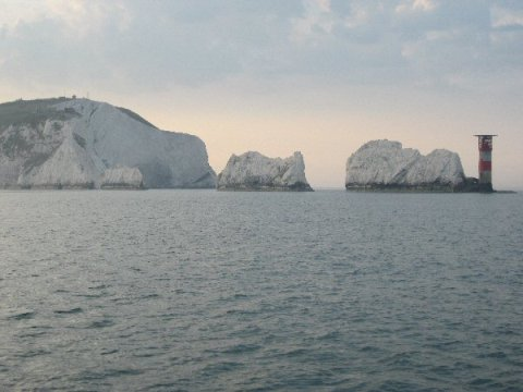 The Solent og The Needles